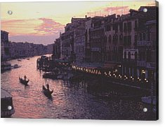 View From The Rialto Venice Acrylic Print
