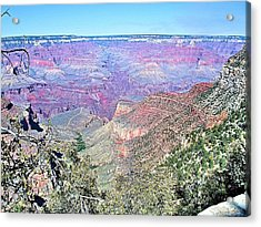 View From The South Rim Acrylic Print by David Rizzo