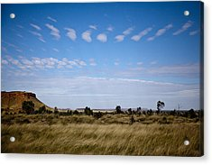 Acrylic Print featuring the photograph View Into Distance by Carole Hinding