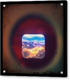 View-master Grand Canyon Yavapal Point Acrylic Print