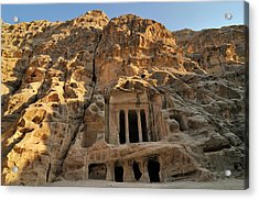 View Of Pequeña Petra Acrylic Print by Molina