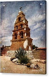 View Of The San Miguel Bell Tower Acrylic Print