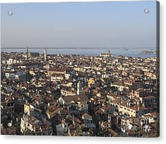 View Of Venice Acrylic Print by Bernard Jaubert