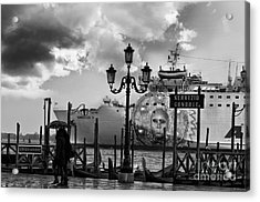 View On Canale Di San Marco In Venice Acrylic Print by Design Remix