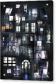 Views From Insides Acrylic Print by Florin Birjoveanu