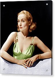 Vigil In The Night, Carole Lombard, 1940 Acrylic Print