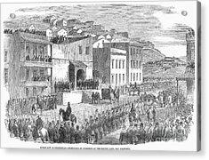 Vigilance Committee, 1856 Acrylic Print by Granger