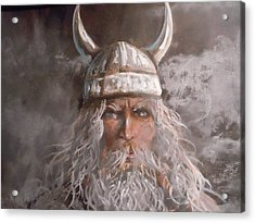 Viking God Acrylic Print by James Guentner