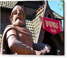 Vikings Conquerors Of The Sea Acrylic Print