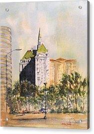 Villa Riviera  Acrylic Print