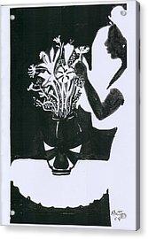 Village Dancers Acrylic Print by Rhetta Hughes