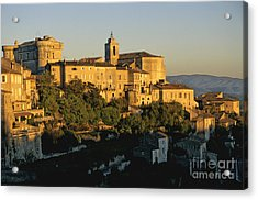 Village De Gordes. Vaucluse. France. Europe Acrylic Print