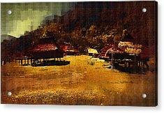Village In Northern Burma Acrylic Print