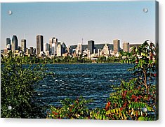 Acrylic Print featuring the photograph Ville De Montreal by Juergen Weiss