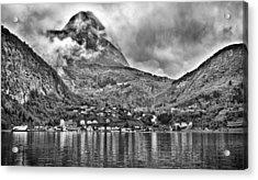 Vinashornet Mountain Acrylic Print by A A