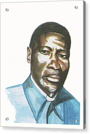 Vincent Mulago Acrylic Print by Emmanuel Baliyanga
