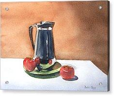 Vine Ripened Acrylic Print by Bobbi Price