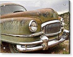 Vintage 1951 Nash Ambassador Front End Acrylic Print by James BO  Insogna