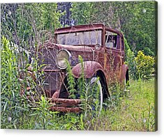 Acrylic Print featuring the photograph Vintage Automobile by Susan Leggett