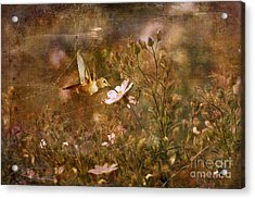 Vintage Beauty In Nature  Acrylic Print by Susan Gary
