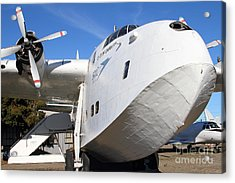 Vintage Boac British Overseas Airways Corporation Speedbird Flying Boat . 7d11255 Acrylic Print by Wingsdomain Art and Photography