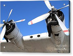 Vintage Boac British Overseas Airways Corporation Speedbird Flying Boat . 7d11260 Acrylic Print by Wingsdomain Art and Photography
