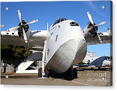 Vintage Boac British Overseas Airways Corporation Speedbird Flying Boat . 7d11275 Acrylic Print by Wingsdomain Art and Photography