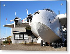 Vintage Boac British Overseas Airways Corporation Speedbird Flying Boat . 7d11276 Acrylic Print by Wingsdomain Art and Photography