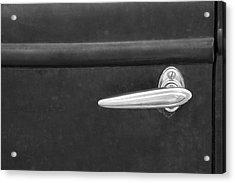 Vintage Car Door Handle Acrylic Print