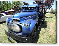 Vintage Chevrolet Delivery Truck . 5d16669 Acrylic Print by Wingsdomain Art and Photography
