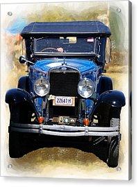 Vintage Chevrolet Acrylic Print
