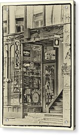 Vintage Cigar Store II Acrylic Print by David Patterson