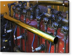 Vintage Combustion Engine Acrylic Print by Scott Hovind