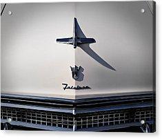 Vintage Ford Fairlane Hood Ornament Acrylic Print