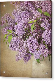 Acrylic Print featuring the photograph Vintage Lilac by Cheryl Davis