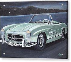 Vintage Mercedes Acrylic Print