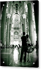 Acrylic Print featuring the photograph Vintage Sagrada by HweeYen Ong