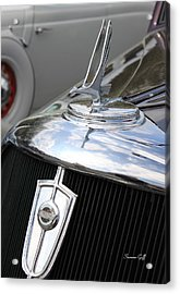Vintage Studebaker Acrylic Print by Suzanne Gaff