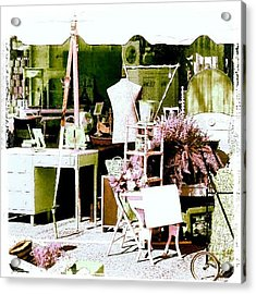 Vintage Treasures #android #andrography Acrylic Print