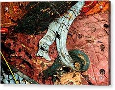 Viv Acrylic Print by Dean Harte