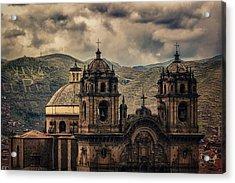 Viva El Peru Acrylic Print by Stuart Deacon