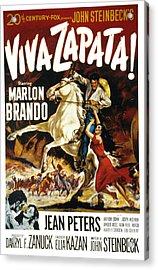 Viva Zapata, Marlon Brando, Jean Acrylic Print