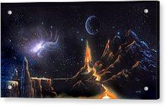 Volcanic Planet Acrylic Print