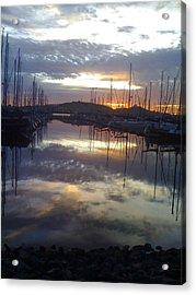 Volcanic Reflections10 Acrylic Print