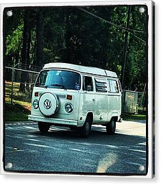 Volkswagon Bus Acrylic Print