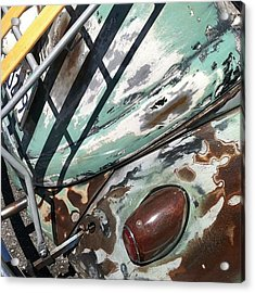 Vw Abstract Acrylic Print by Gwyn Newcombe