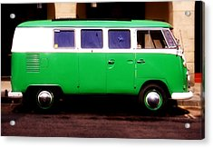Vw Camper Van Acrylic Print