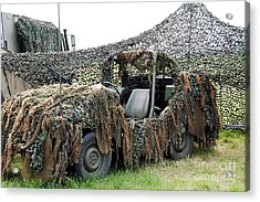 Vw Iltis Of The Special Forces Group Acrylic Print by Luc De Jaeger