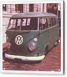 Vw In Downtown Fort Myers. #vw Acrylic Print