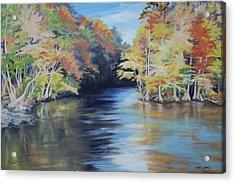 Waccamaw Autumn Acrylic Print